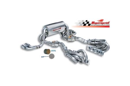 supersprint exhausts at NJS Alfa Romeo